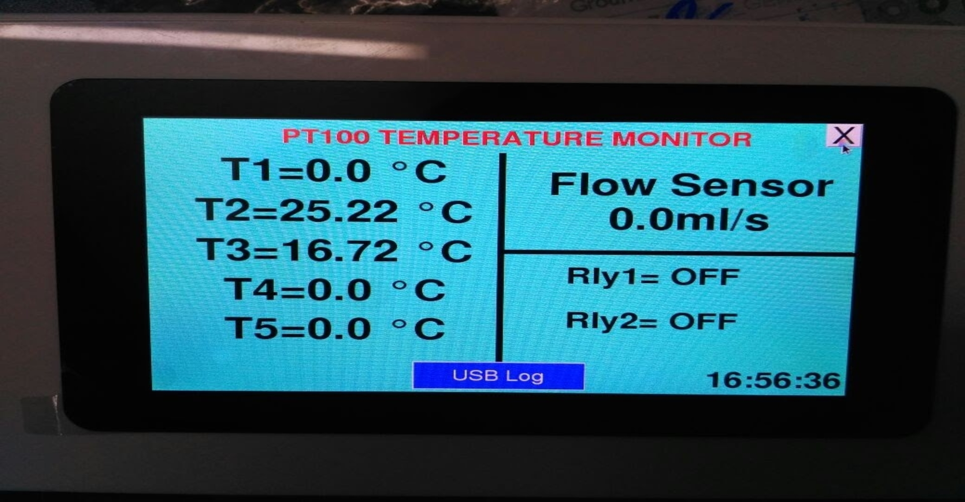 Industrial Temperature monitor